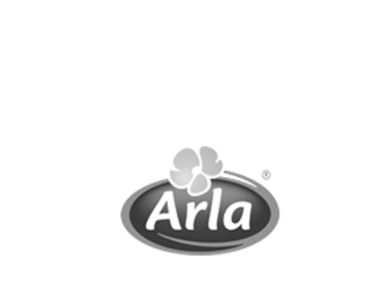 Arla logo, fast and consistent mobile devices
