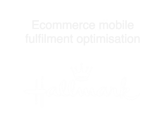 Hallmark logo, ecommerce mobile fulfilment optimisation